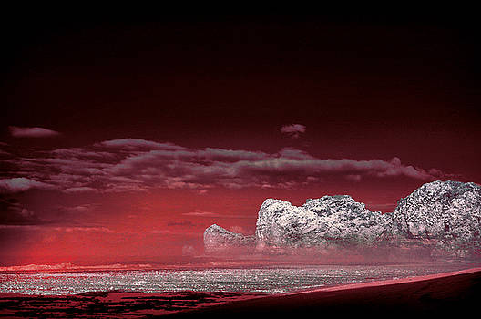 Red Clouds Of Imagination by Mario Bennet