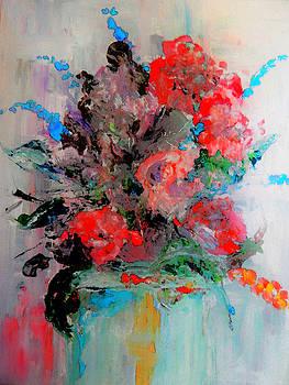 Red Rose Arrangement by Lisa Kaiser