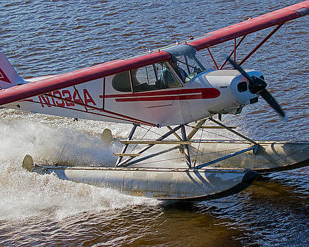 Allan Levin -  River Take Off on Cherna River