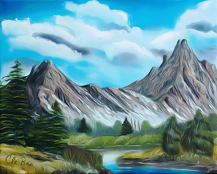 Claude Beaulac -  Rocky Mountain Tranquil Escape Dreamy Mirage