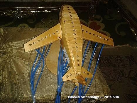 Scientific plane by Hassan Ragheb