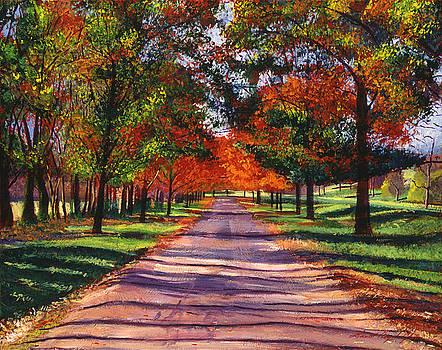 David Lloyd Glover -  SEPTEMBER COUNTRY SONG
