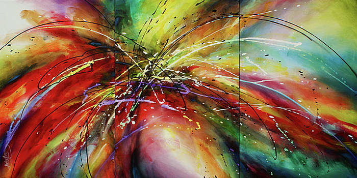 ' Shattered Forms ' by Michael Lang