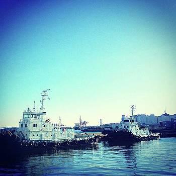#船 #海 #ships #sea #sky by Bow Sanpo