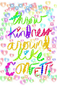 Kindness Confetti - doodle  by SimbiAni