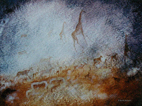 South African  Pertroglyph by Elaine Booth-Kallweit
