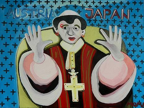 The Pope by Moma Bjekovic