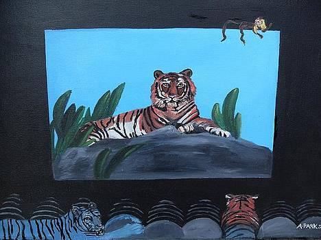 Tiger show by Aleta Parks