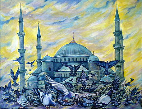 Turkey. Blue Mosque by Anna Duyunova