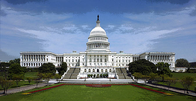 United States Capitol by Christopher Kerby