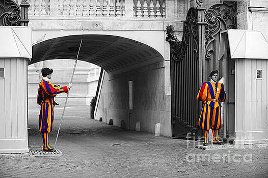 Vatican Swiss Guard by Stefano Senise