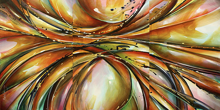 ' Visions of Time ' by Michael Lang