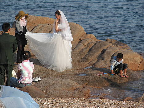 Alfred Ng -  Wedding photo on the beach