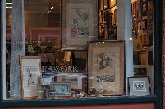 Window Display by Prints And Small Works By Various Artists