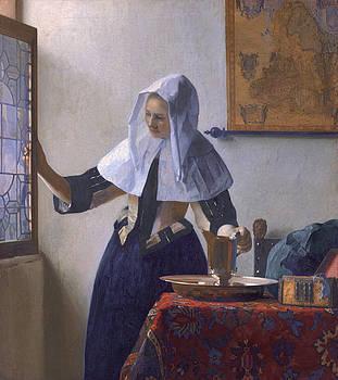 Johannes Vermeer -  Woman With A Water Jug