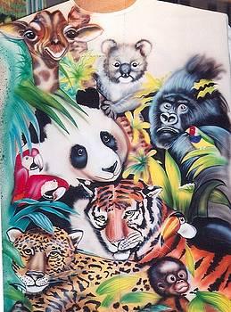 Wonderful World Of Animals by Judith Lorraine White