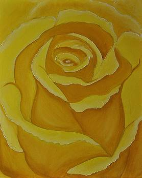 Yellow Rose by Nicole  Cris