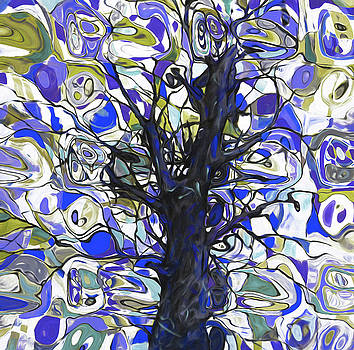 00005 Abstract Tree by Nixo by Nicholas Nixo