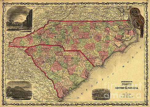 Dale Powell - NC and SC Map