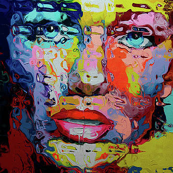 0034 Face by Nixo by Nicholas Nixo