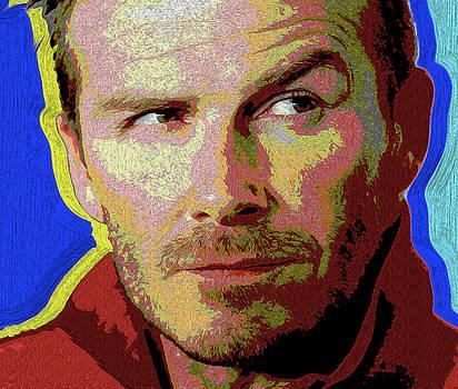 0041 David Beckham by Nixo by Nicholas Nixo