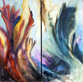 01321 Fire and Waves by AnneKarin Glass
