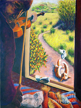 01349 The Cat and The Fiddle by AnneKarin Glass