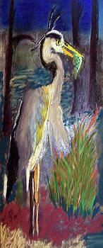 052916 Blue Heron by Garland Oldham