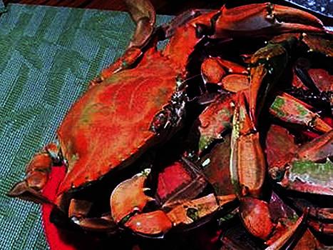 090815 Digital Oil Crabs by Garland Oldham