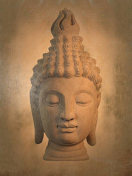 antique oil effect Buddha Sukhothai ,, by Terrell Kaucher