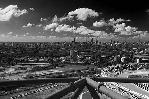 David French -  City of London skyline  panarama