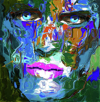 100 Abstract Face by Nixo by Nicholas Nixo