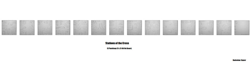 14 Stations Of The Cross, by Radoslaw Zipper