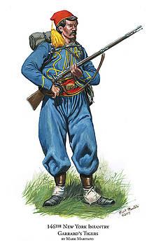 146th New York Infantry - Garrard's Tigers by Mark Maritato