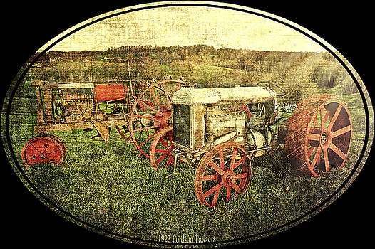 Vintage 1923 Fordson Tractors by Mark Allen