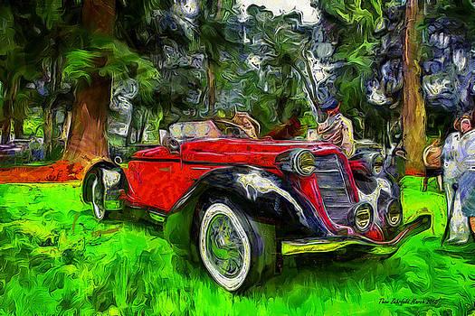 Thom Zehrfeld - 1935 Auburn Boattail Speedster