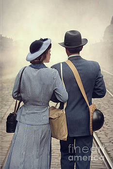 1940s Wartime Couple by Lee Avison