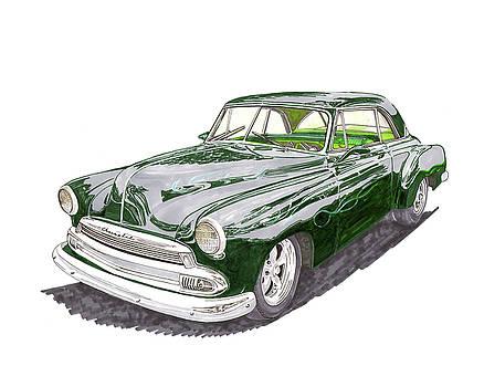 Jack Pumphrey - 1952 Chevrolet Bel Air