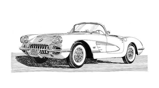 Jack Pumphrey - 1960 Corvette