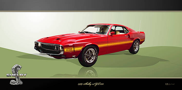 Serge Averbukh - 1969 Shelby v8 GT350