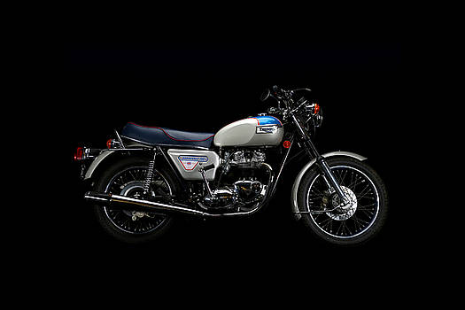 1977 Triumph Bonneville Silver Jubilee by Keith May