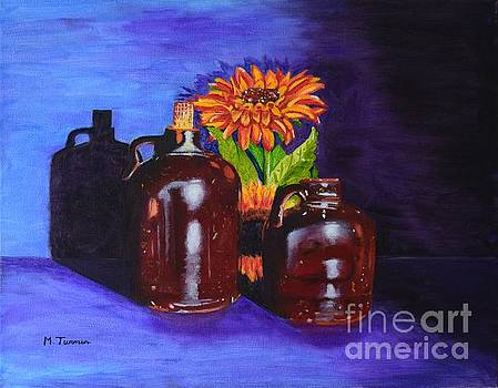 2 old Jugs by Melvin Turner