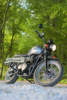 2013 Triumph Scrambler by Keith May