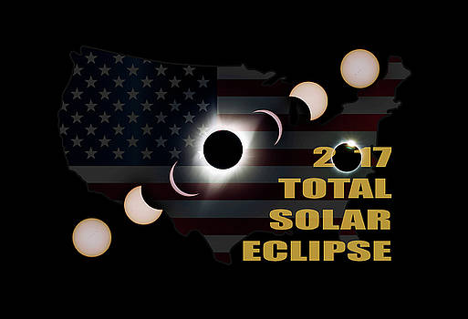 2017 Total Solar Eclipse Across America by David Gn