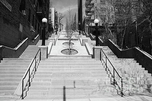 215th Street Stairs by Cole Thompson