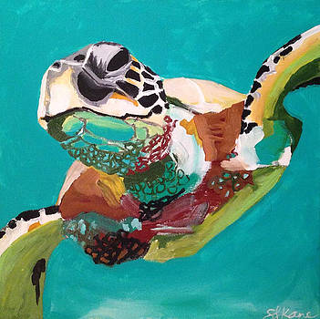 30A Sea Turtle by Sarah LaRose Kane