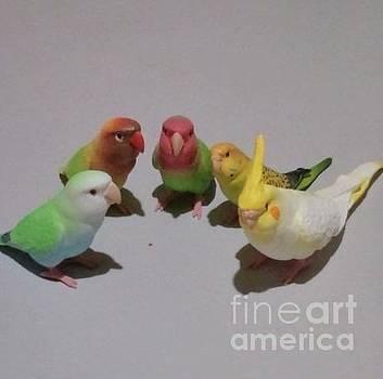 Kotori Means Bird. by Sobajan Tellfortunes