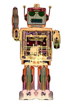 Roy Livingston - 4N0D3 X-ray Robot Art