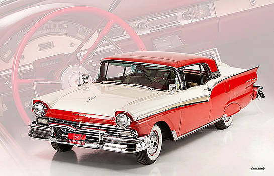 57 Ford Retractable  by Kevin Moody