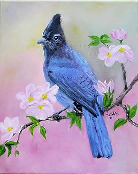 A Blue Beauty by Sandra Maddox
